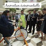 Animation événementielle Vélo-Smoothie®