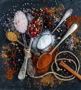 épices et sel