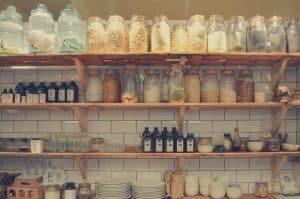 alimentation en vrac, manger bio et en limitant les emballages